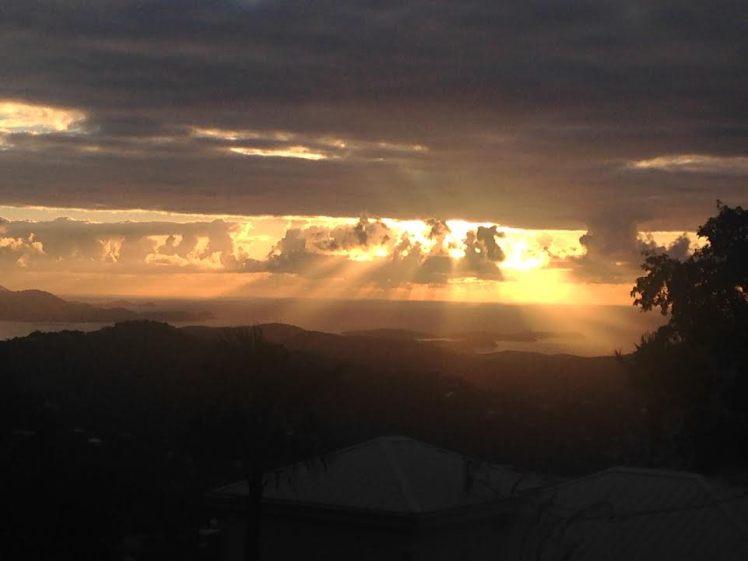 light-through-clouds